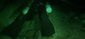 Overhead Environment Sidemount Diver